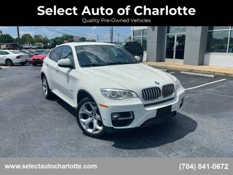 2013 BMW X6 for sale at Select Auto of Charlotte in Matthews NC