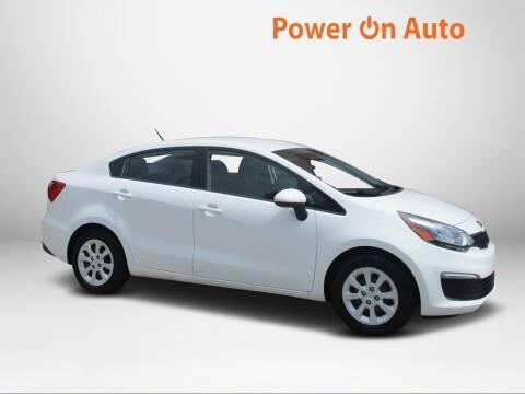 2017 Kia Rio for sale at Power On Auto LLC in Monroe NC
