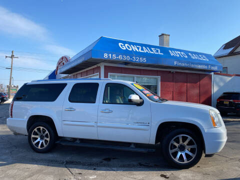 2008 GMC Yukon XL for sale at Gonzalez Auto Sales in Joliet IL