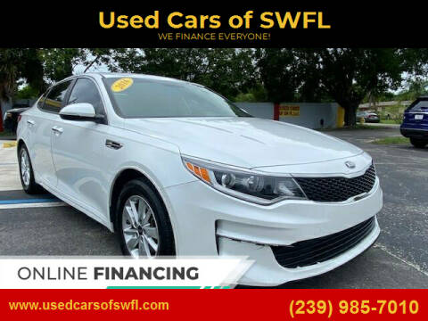 2016 Kia Optima for sale at Used Cars of SWFL in Fort Myers FL