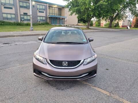 2014 Honda Civic for sale at EBN Auto Sales in Lowell MA