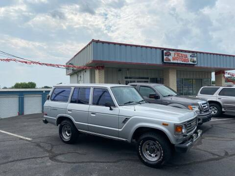 1986 Toyota Land Cruiser for sale at FIESTA MOTORS in Hagerstown MD