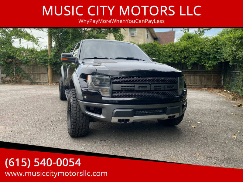 2013 Ford F-150 for sale at MUSIC CITY MOTORS LLC in Nashville TN