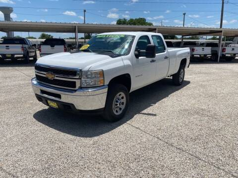 2012 Chevrolet Silverado 3500HD for sale at Bostick's Auto & Truck Sales in Brownwood TX