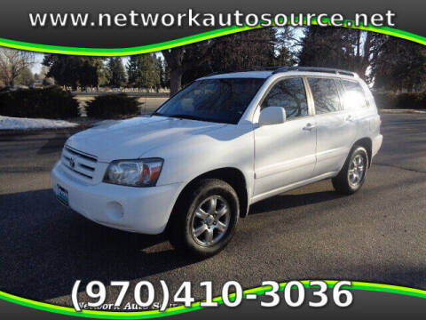 2007 Toyota Highlander for sale at Network Auto Source in Loveland CO