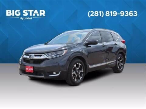 2017 Honda CR-V for sale at BIG STAR HYUNDAI in Houston TX