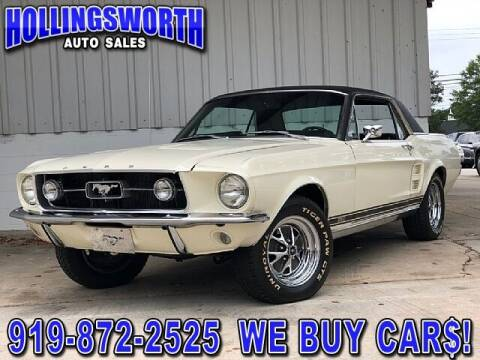1967 Ford Mustang for sale at Hollingsworth Auto Sales in Raleigh NC