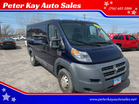 2014 RAM ProMaster Cargo for sale at Peter Kay Auto Sales in Alden NY