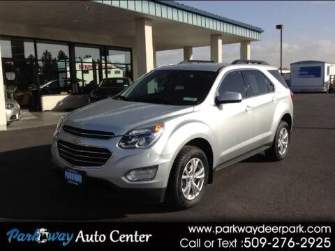 2016 Chevrolet Equinox for sale at PARKWAY AUTO CENTER AND RV in Deer Park WA