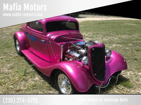 1934 Ford Model A for sale at Mafia Motors in Boerne TX