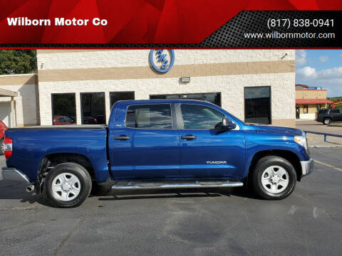 2015 Toyota Tundra for sale at Wilborn Motor Co in Fort Worth TX