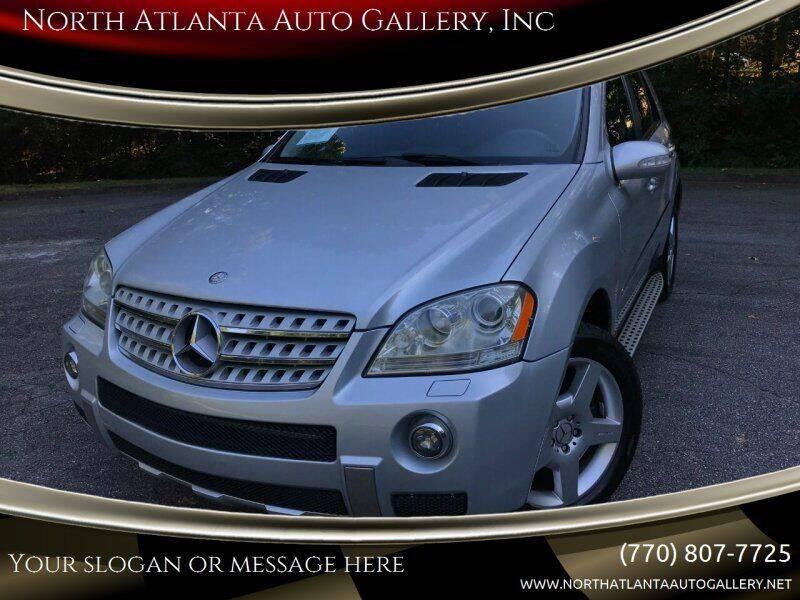 2008 Mercedes-Benz M-Class for sale at North Atlanta Auto Gallery, Inc in Alpharetta GA