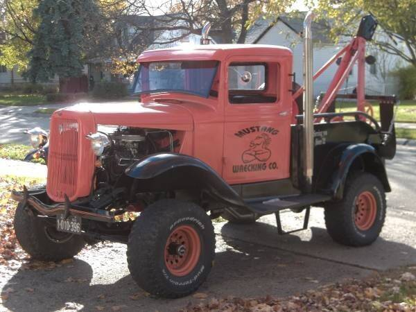 1932 Ford Tow Truck for sale at Haggle Me Classics in Hobart IN