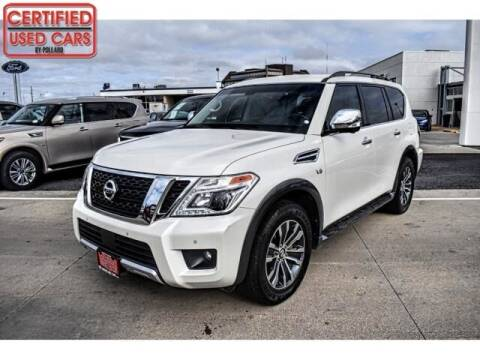 2017 Nissan Armada for sale at South Plains Autoplex by RANDY BUCHANAN in Lubbock TX