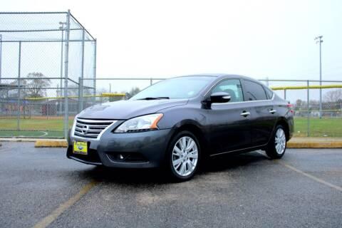 2014 Nissan Sentra for sale at MEGA MOTORS in South Houston TX
