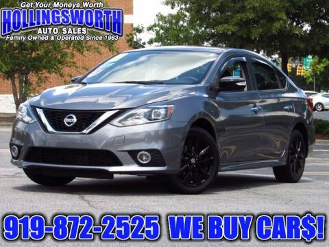 2017 Nissan Sentra for sale at Hollingsworth Auto Sales in Raleigh NC