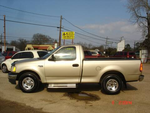 2000 Ford F-150 for sale at A-1 Auto Sales in Conroe TX
