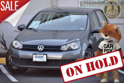 2012 Volkswagen Golf for sale at JDM Auto in Fredericksburg VA