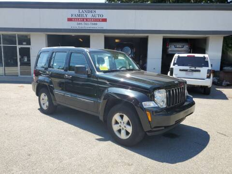 2012 Jeep Liberty for sale at Landes Family Auto Sales in Attleboro MA