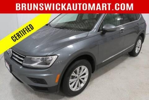 2018 Volkswagen Tiguan for sale at Brunswick Auto Mart in Brunswick OH