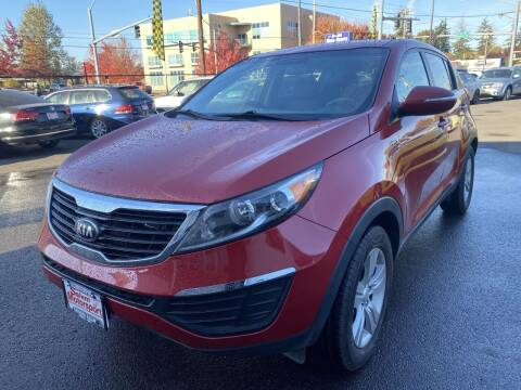 2013 Kia Sportage for sale at Salem Motorsports in Salem OR