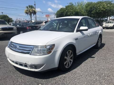 2008 Ford Taurus for sale at Lamar Auto Sales in North Charleston SC