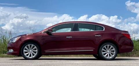 2016 Buick LaCrosse for sale at Palmer Auto Sales in Rosenberg TX