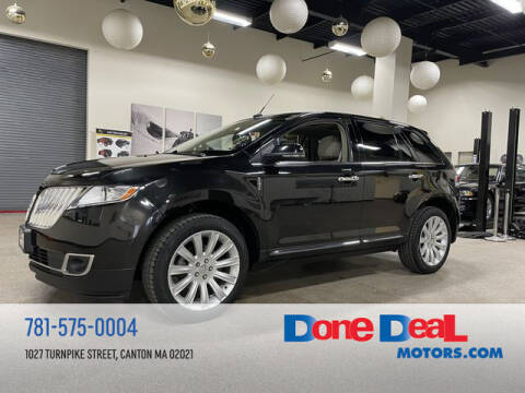 2015 Lincoln MKX for sale at DONE DEAL MOTORS in Canton MA