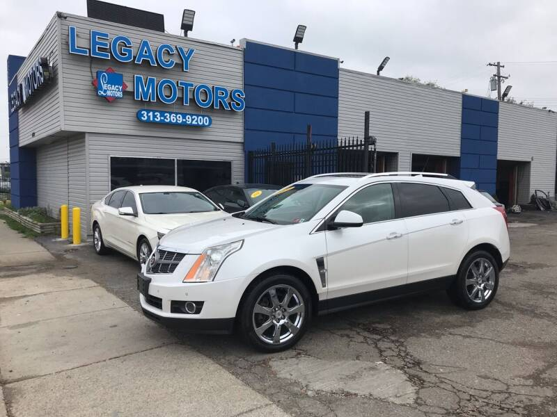 2010 Cadillac SRX for sale at Legacy Motors in Detroit MI