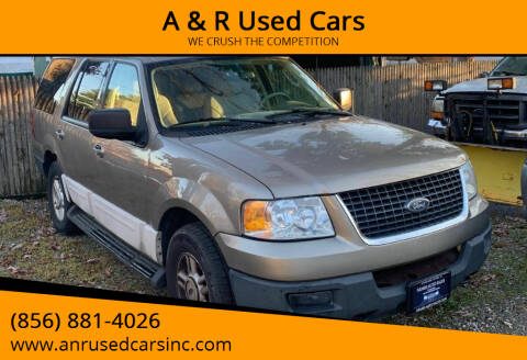 2003 Ford Expedition for sale at A & R Used Cars in Clayton NJ