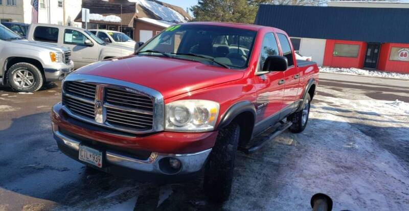2007 Dodge Ram Pickup 1500 for sale at WB Auto Sales LLC in Barnum MN