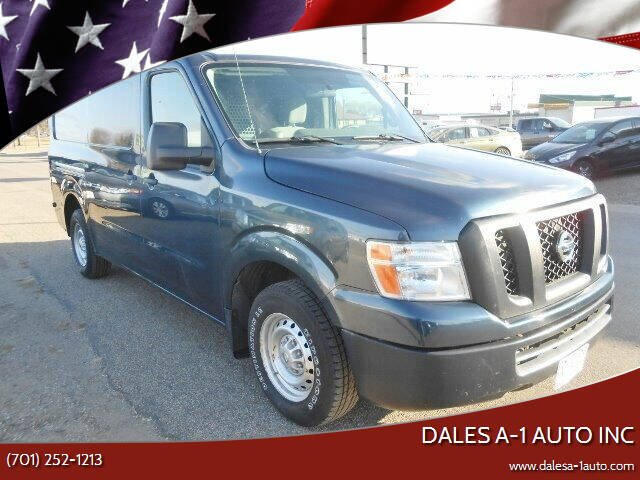 2013 Nissan NV Cargo for sale at Dales A-1 Auto Inc in Jamestown ND