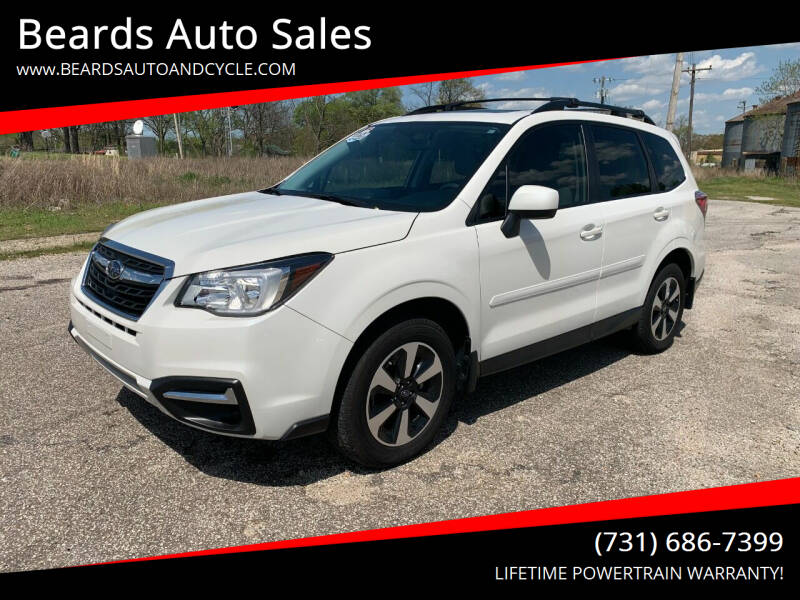 2018 Subaru Forester for sale at Beards Auto Sales in Milan TN