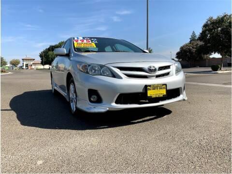 2013 Toyota Corolla for sale at D & I Auto Sales in Modesto CA