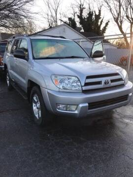 2004 Toyota 4Runner for sale at D. C.  Autos in Huntsville AL