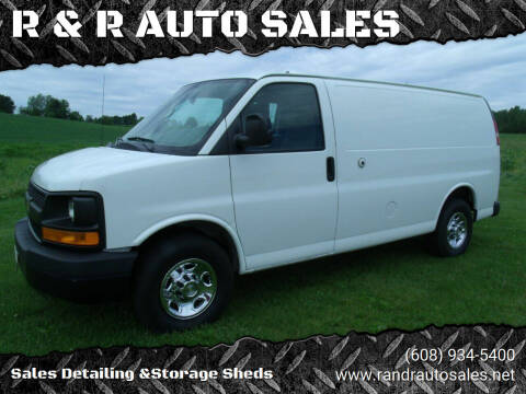 2012 Chevrolet Express Cargo for sale at R & R AUTO SALES in Juda WI