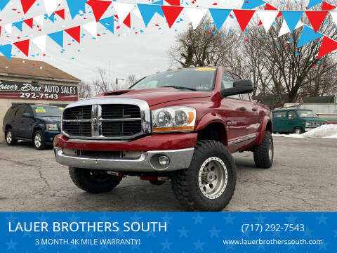 2006 Dodge Ram Pickup 2500 for sale at LAUER BROTHERS SOUTH in York PA