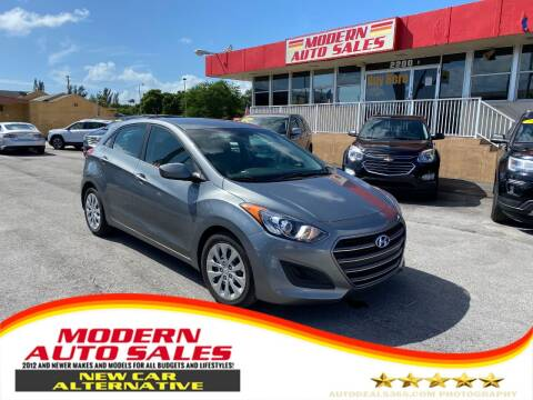 2017 Hyundai Elantra GT for sale at Modern Auto Sales in Hollywood FL