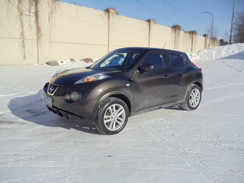2012 Nissan JUKE for sale at Metro Motor Sales in Minneapolis MN