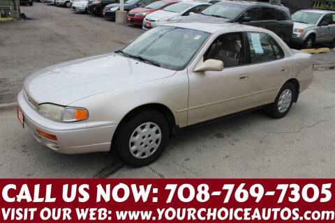 1996 Toyota Camry for sale at Your Choice Autos in Posen IL