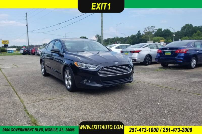 2016 Ford Fusion for sale at Exit 1 Auto in Mobile AL