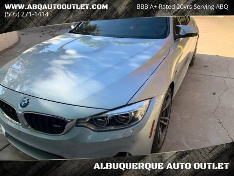 2015 BMW M4 for sale at ALBUQUERQUE AUTO OUTLET in Albuquerque NM