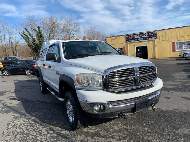 2009 Dodge Ram Pickup 2500 for sale at Virginia Auto Mall in Woodford VA
