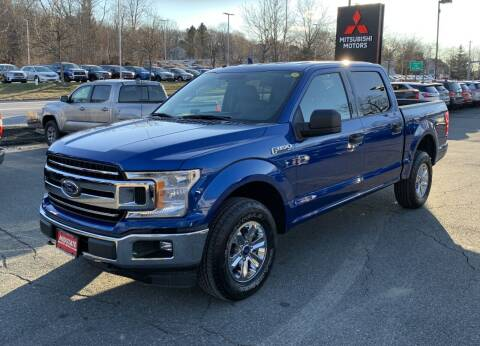 2018 Ford F-150 for sale at Midstate Auto Group in Auburn MA