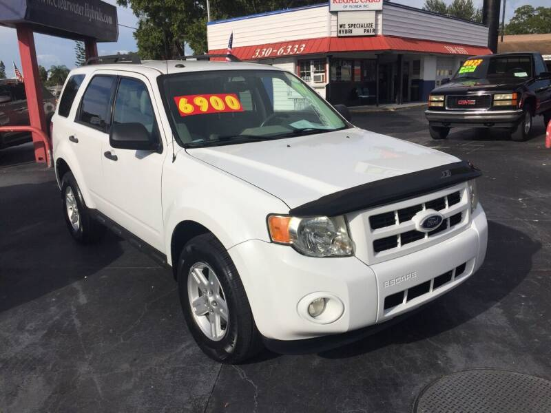 2011 Ford Escape Hybrid for sale at Regal Cars of Florida-Clearwater Hybrids in Clearwater FL