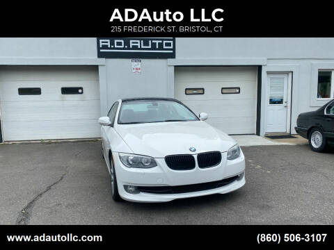 2012 BMW 3 Series for sale at ADAuto LLC in Bristol CT