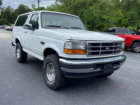 1996 Ford Bronco for sale at Luxury Auto Innovations in Flowery Branch GA