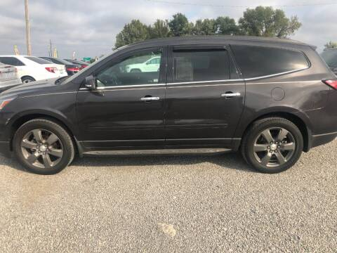 2017 Chevrolet Traverse for sale at LYNDON MOTORS in Lyndon KS