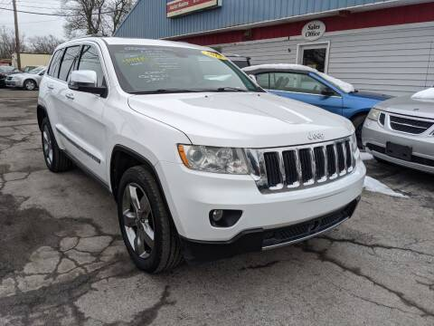 2013 Jeep Grand Cherokee for sale at Peter Kay Auto Sales in Alden NY