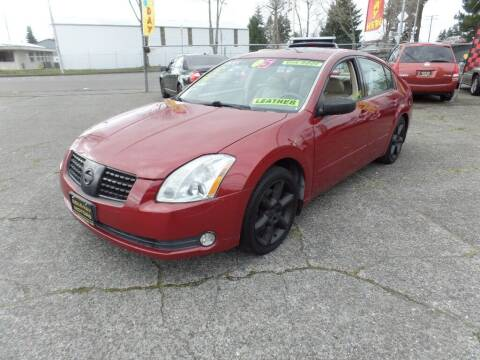 2005 Nissan Maxima for sale at Gold Key Motors in Centralia WA